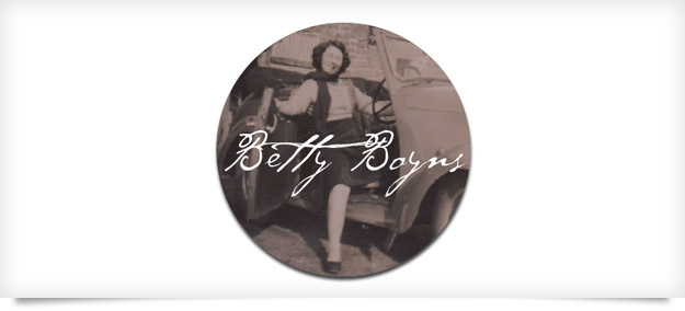 Betty Boyns Logo design