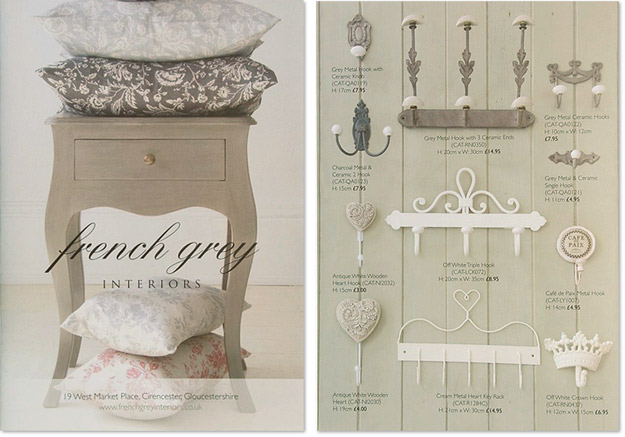 French Grey Interiors / Brochure Design