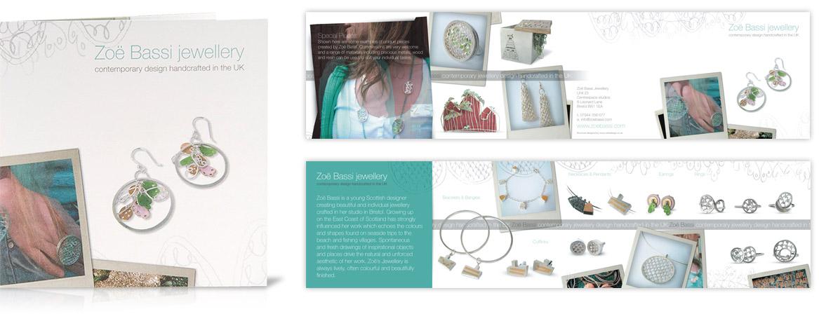 Zöe Bassi / Mini-brochure