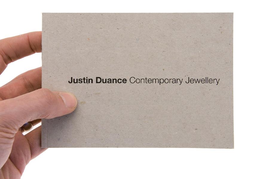 Justin Duance / Brochure Design