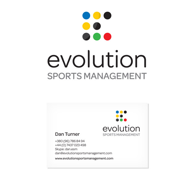 Evolution Sports Management / Logo identity