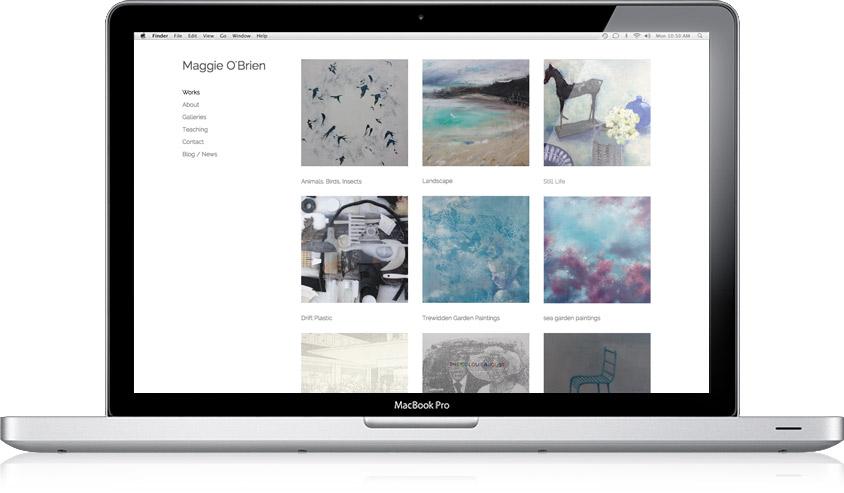 Maggie O'Brien / Website Design