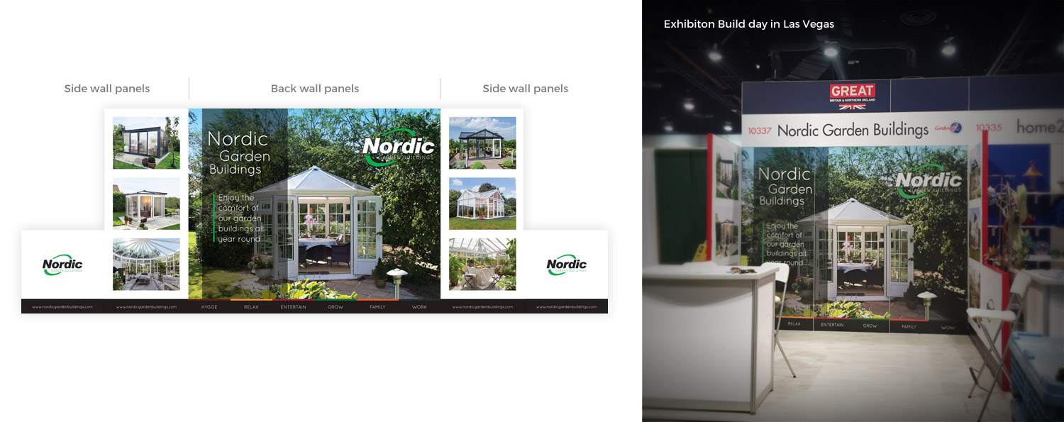 Nordic Garden Buildings Stand Set-up