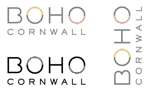 BOHO Cornwall / logo design