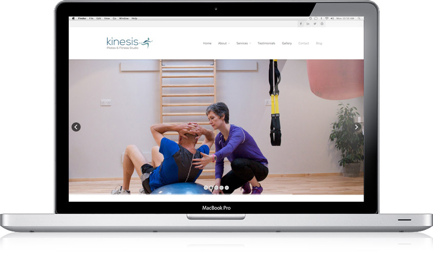 Kinesis Fitness / Branding, Website, Graphics