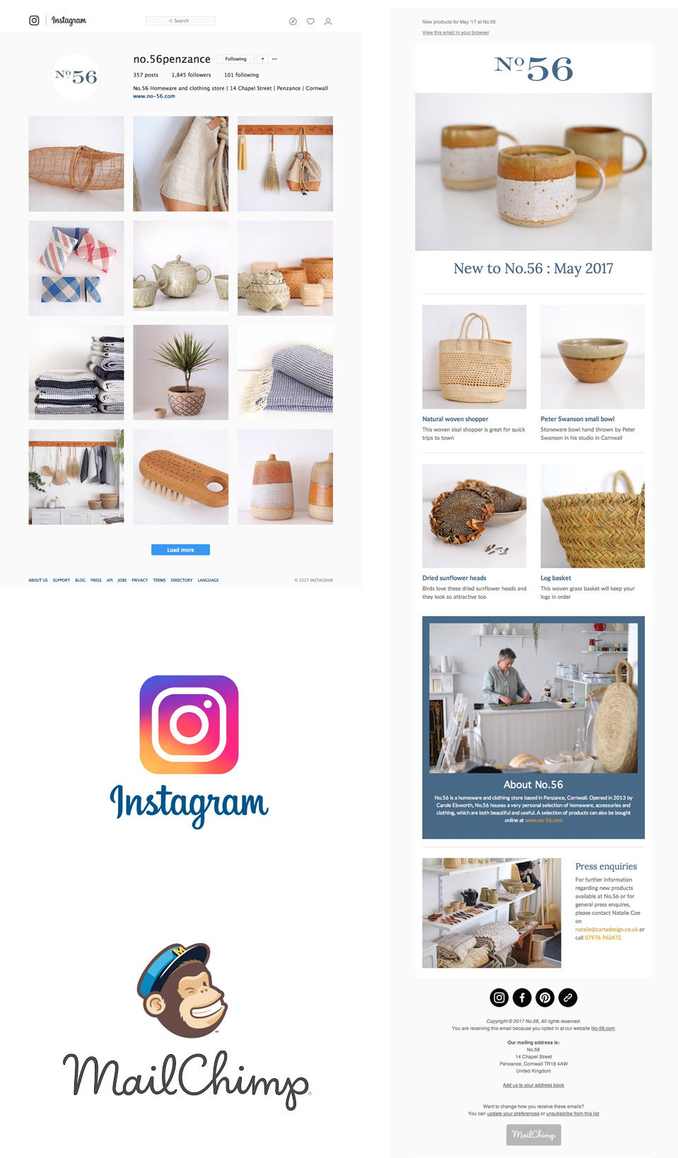 No.56 / Instagram and Email Marketing