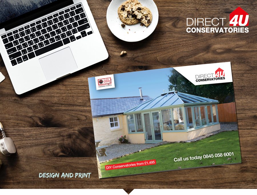 DC4U / Company brochure design and print